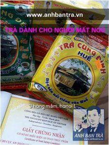 TRÀ DÀNH CHO NGƯỜI MẤT NGỦ – Hue Royal Herbal Tea (Cung Dinh Tea) is good for well sleeping